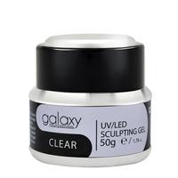 Gradivni gel za nadogradnju noktiju GALAXY LED/UV Clear 50g