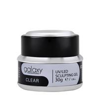 Gradivni gel za nadogradnju noktiju GALAXY LED/UV Clear 30g