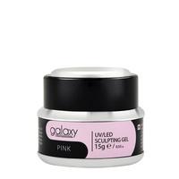 Gradivni gel za nadogradnju noktiju GALAXY LED/UV Pink 15g