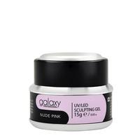 Gradivni kamuflažni gel za nadogradnju noktiju GALAXY LED/UV Nude Pink 15g