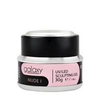 Gradivni kamuflažni gel za nadogradnju noktiju GALAXY LED/UV Nude I 30g