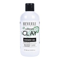 Hranljivi gel za tuširanje REVUELE Zelena glina 300ml