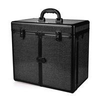 Kofer za šminku, kozmetiku i pribor GALAXY TC 3268 R Crni gliter
