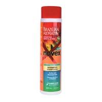 Softer & Resistant Hair Shampoo NOVEX Brazilian Keratin 300ml