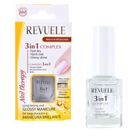 Nail Therapy Complex 3in1 REVUELE Fast Dry, Hard Coat & Glossy Shine 10ml
