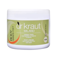 Foot Cream with Shea Butter and Mint K1026 DR KRAUT 500ml