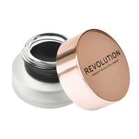 Gel Eyeliner with Angled Brush MAKEUP REVOLUTION Black 3g