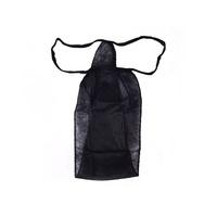 Disposable Woman's Thongs ROIAL Black 1pcs