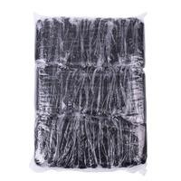 Disposable Woman's Thongs ROIAL Black 100pcs