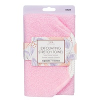 Exfoliating Stretch Towel CALA Pink 69524