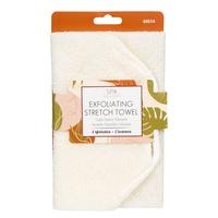 Elastični peškir za piling tela CALA Cream 69514
