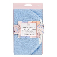 Exfoliating Stretch Towel CALA Baby Blue 69534