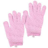 Exfoliating Bath Gloves CALA 69523 Pink 2pcs