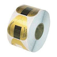 Samolepljivi papirni šabloni za izlivanje noktiju DFN1 rolna 500/1