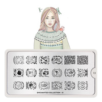 Šablon za pečate MOYOU Enchanted 13
