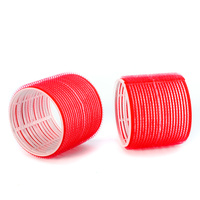 Velcro Rollers COMAIR Red 70x60mm 6pcs