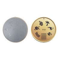 Šablon silikonski za Nail Art A12