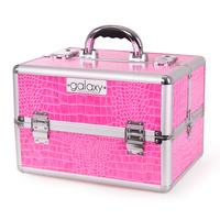 Makeup, Cosmetics and Tool Case GALAXY TC 3154 HPC Pink