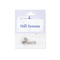 Privezak za nokte mašnica ASNGS15