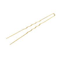Harnadle za kosu metalne COMAIR Zlatne 65x0.55mm 50/1