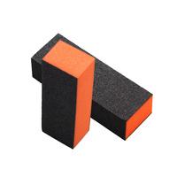 Blok turpija za matiranje noktiju B1 Crno/Narandžasta 100/180/100