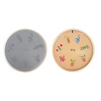Šablon silikonski za Nail Art F14