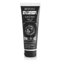 Crna maska sa aktivnim ugljem za čišćenje lica REVUELE No Problem 80ml