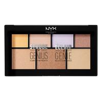 Paleta hajlajtera NYX Professional Makeup Strobe of Genius STGP01 20g