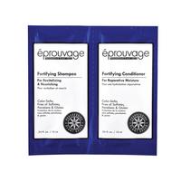 Set šampon i balzam bez sulfata za oštećenu kosu EPROUVAGE 2x10ml