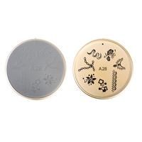 Šablon silikonski za Nail Art A28