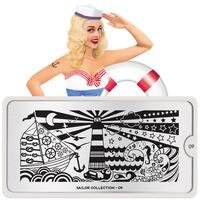 Šablon za pečate MOYOU Sailor 09