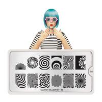Šablon za pečate MOYOU Illusion 05