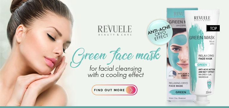 green face mask revuele