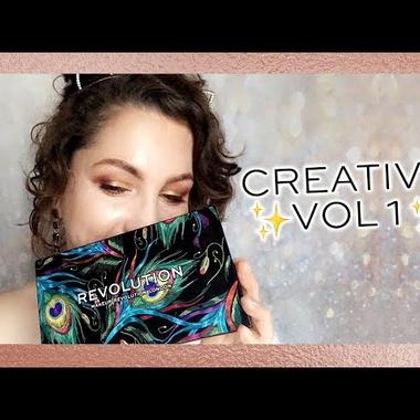 Pigment Palette REVOLUTION MAKEUP Creative Vol 1 12g-default image
